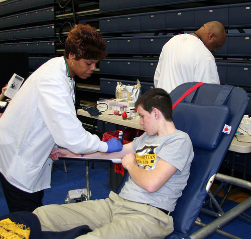 Two Blood Drives in Yates County Tuesday