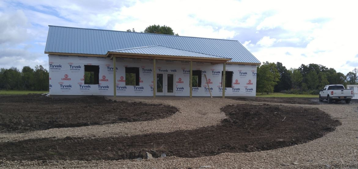 Deer Haven Park Welcome Center Nearing Completion