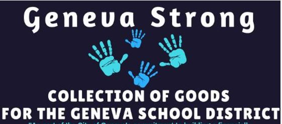 Geneva Strong Drive Ends Today