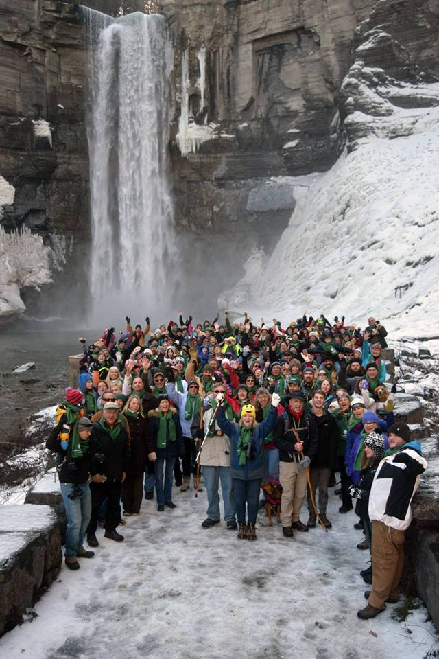 First Day Hike At Taughannock Falls