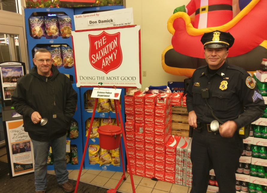 With Less Than A Week Left Geneva Red Kettle Campaign Is At Less Than 50%