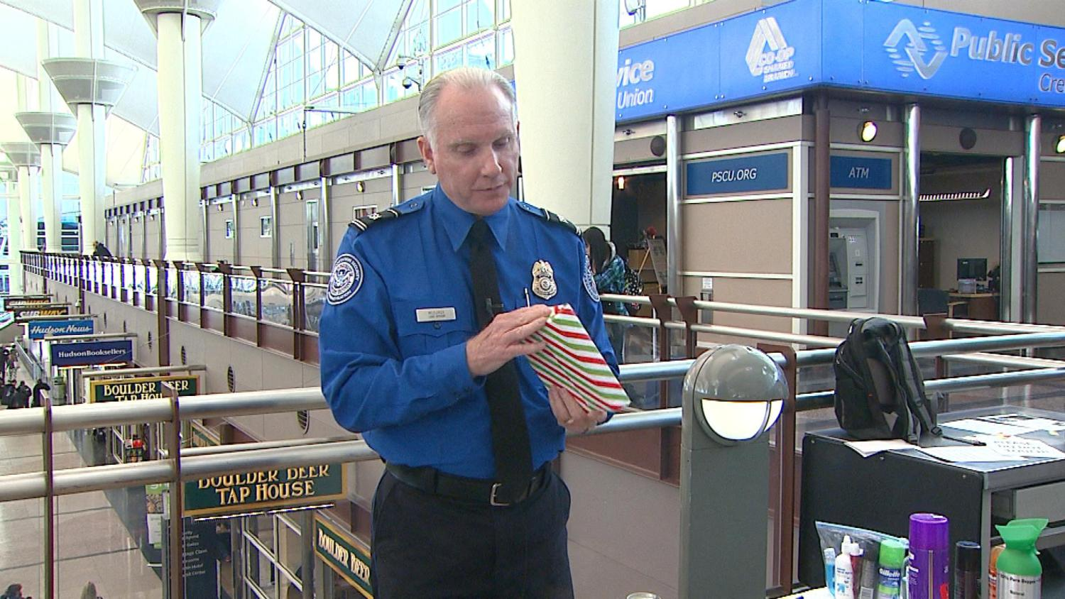 TSA May Get Grinchy About Wrapped Gifts