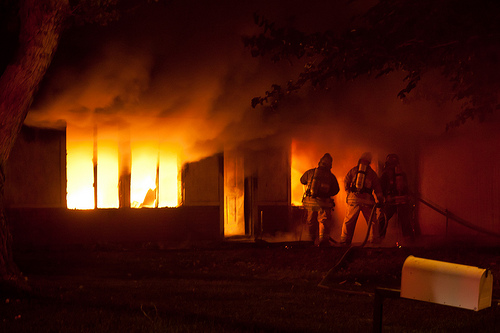Fire Destroys Seneca Falls Vacation Home