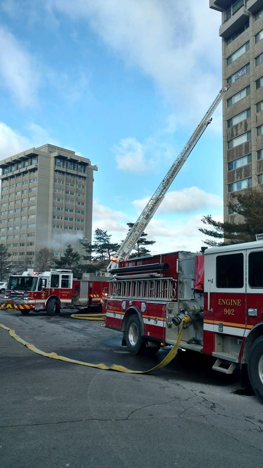 Fire Forces Evacuation at Ithaca College Dorm