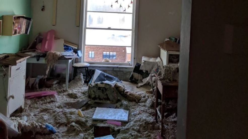 Pipe Burst Causes Extensive Damage at Keuka College