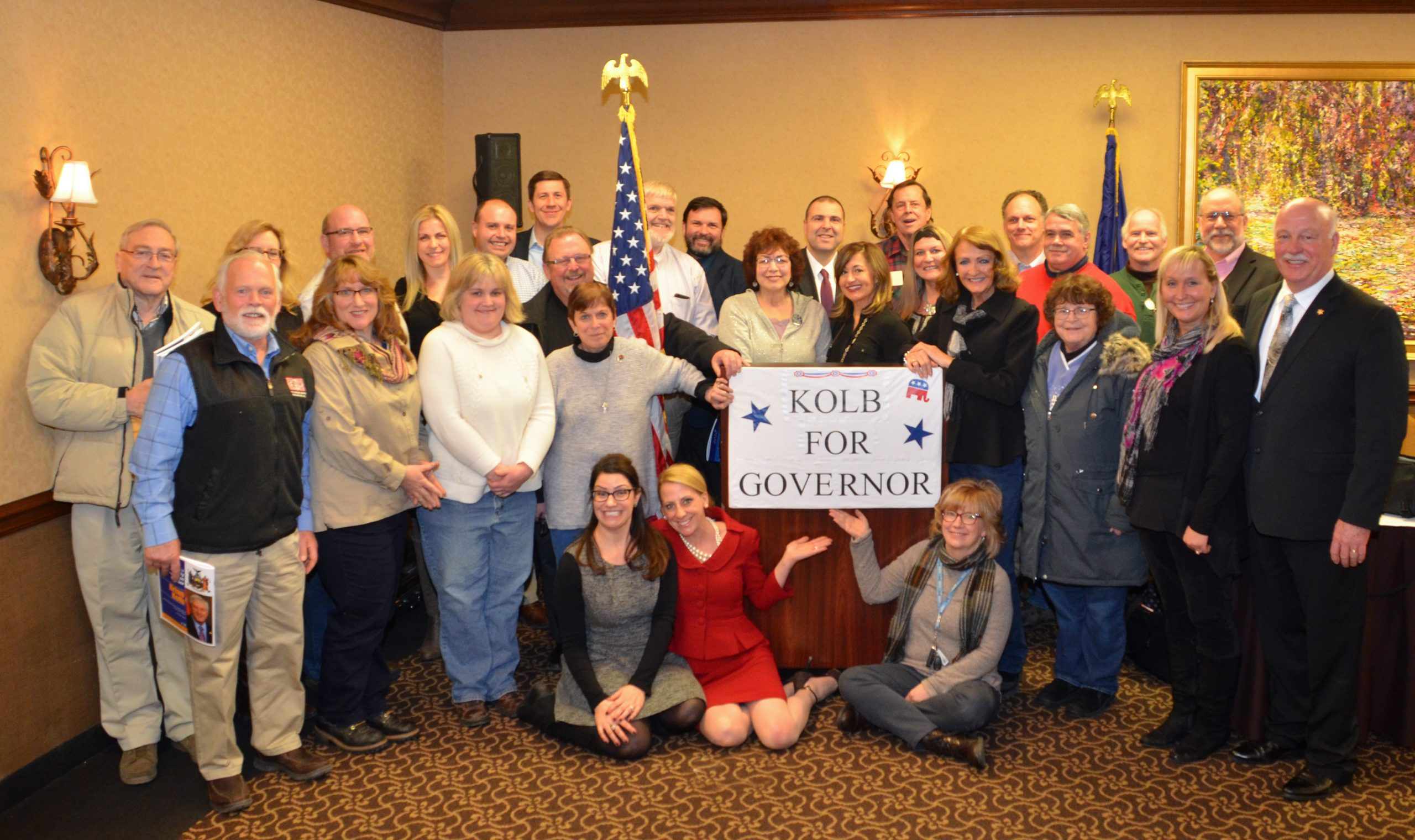 Ontario County GOP Backs Kolb for Governor