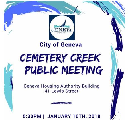 Geneva Residents To Learn More About Cemetery Creek Flooding Problems
