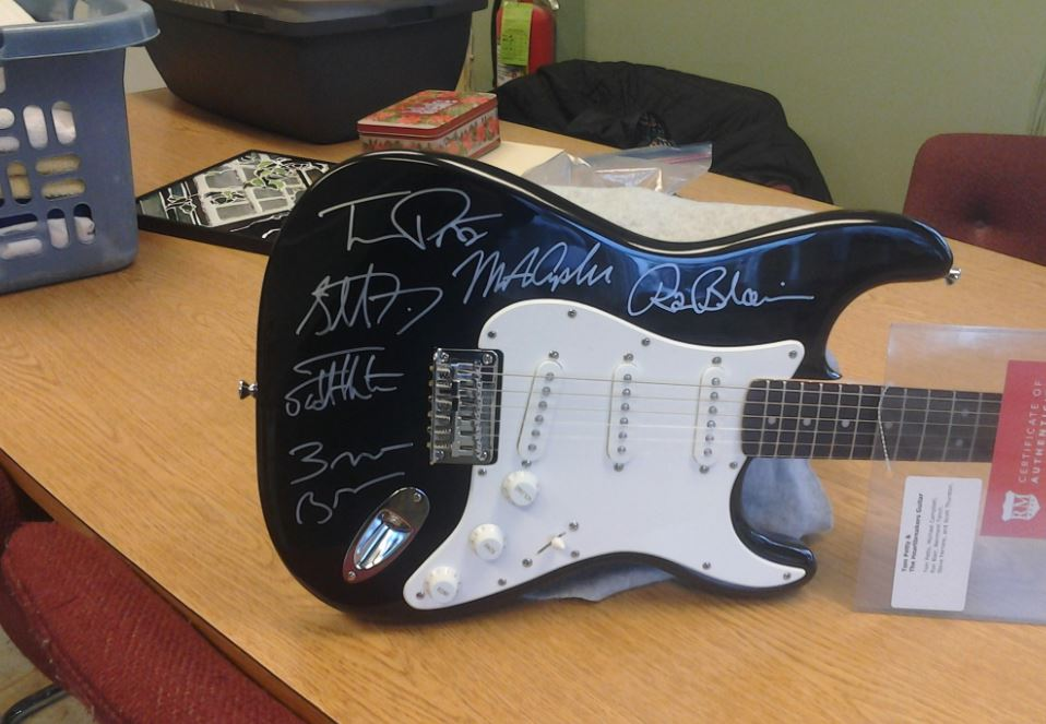 Wayne Co. Humane Society To Auction Tom Petty Signed Guitar
