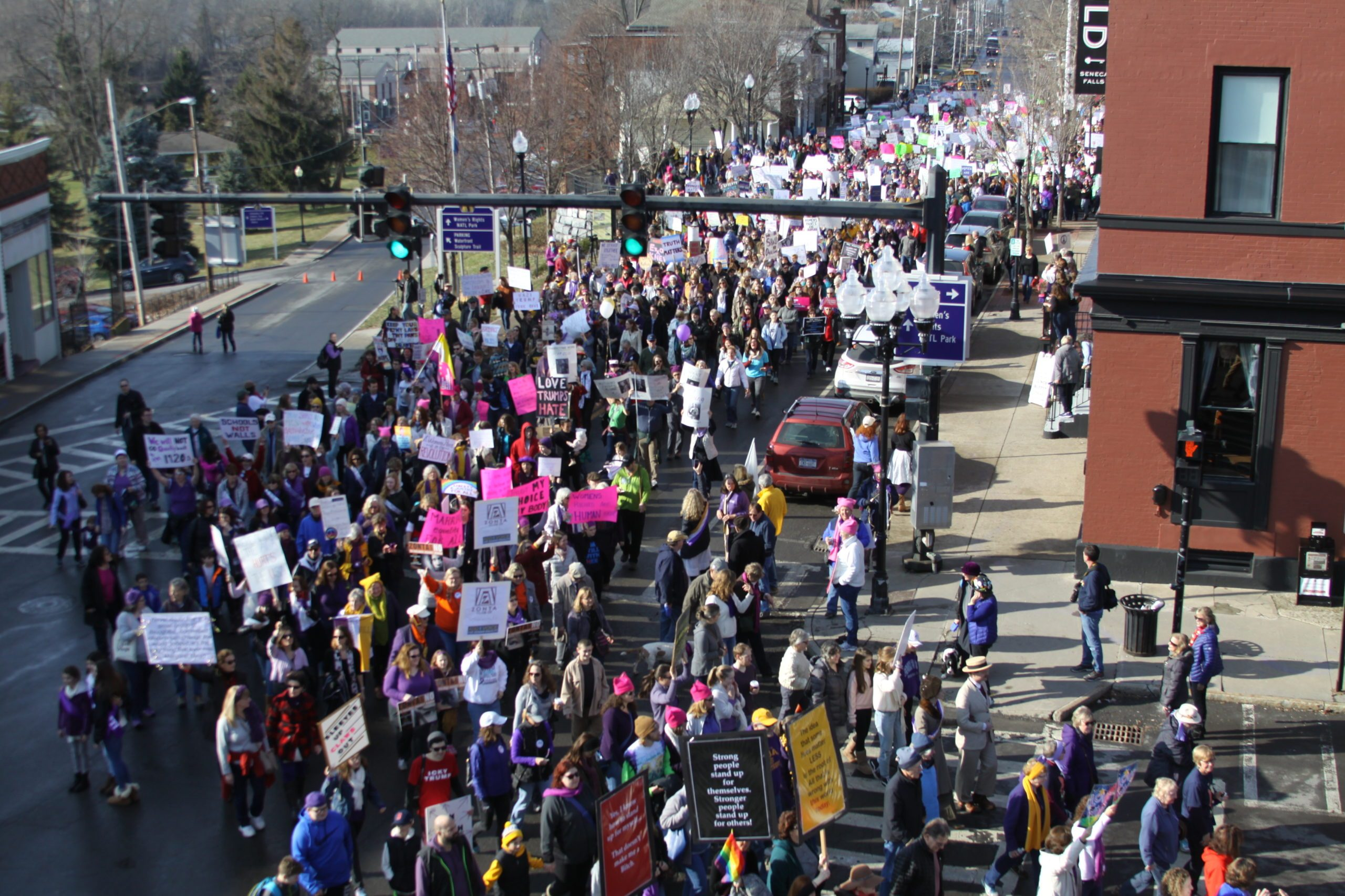 Speakers Announced for Seneca Falls Women's March