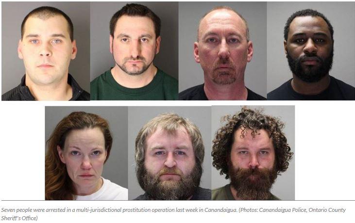 Seven Arrested in Prostitution Sting