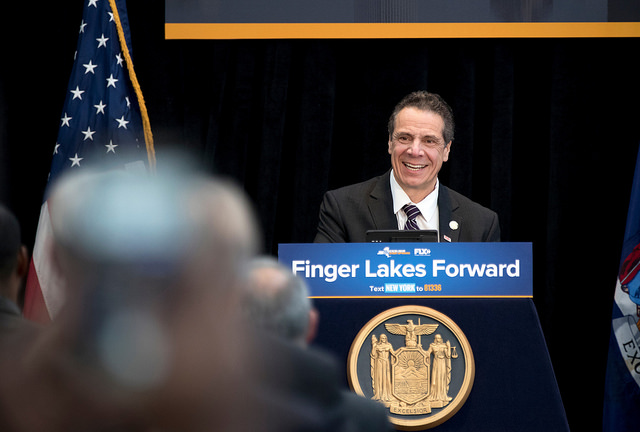 Cuomo Joins Other Governors on Gun Safety