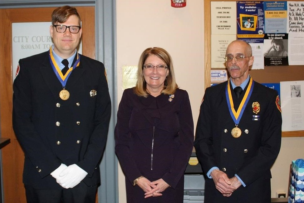 Canandaigua Firefighters Honored With Liberty Medals