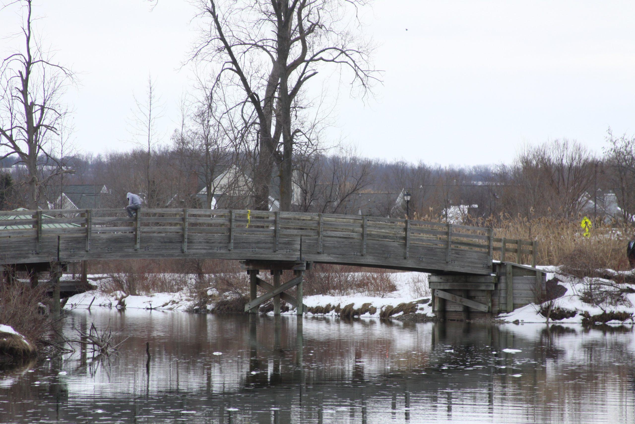 Incident on Canandaigua Bridge Ends Peacefully