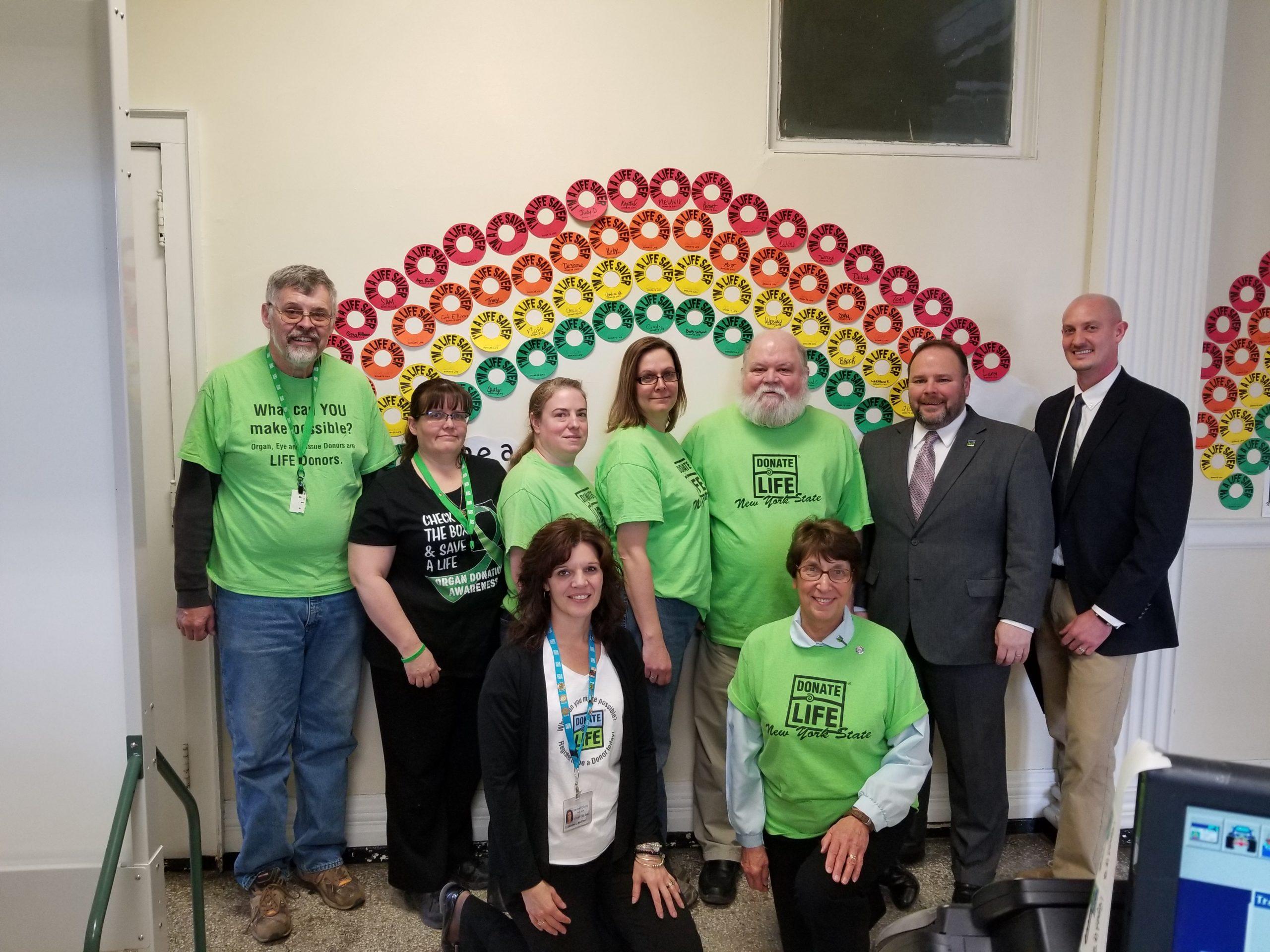 Palmesano, Steuben Co. Leaders Urge Organ Donation