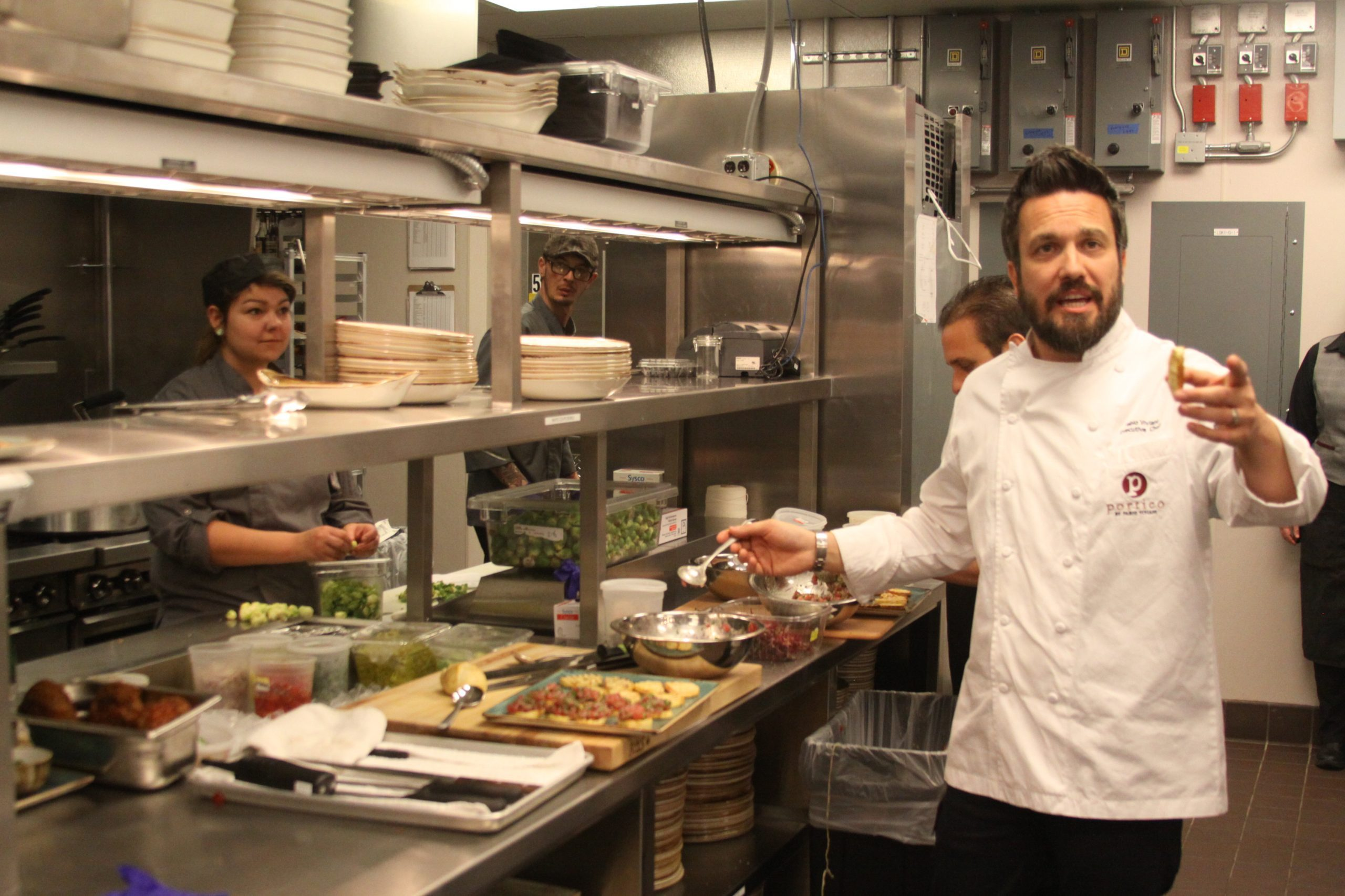 Cook with Celebrity Chef Fabio Viviani