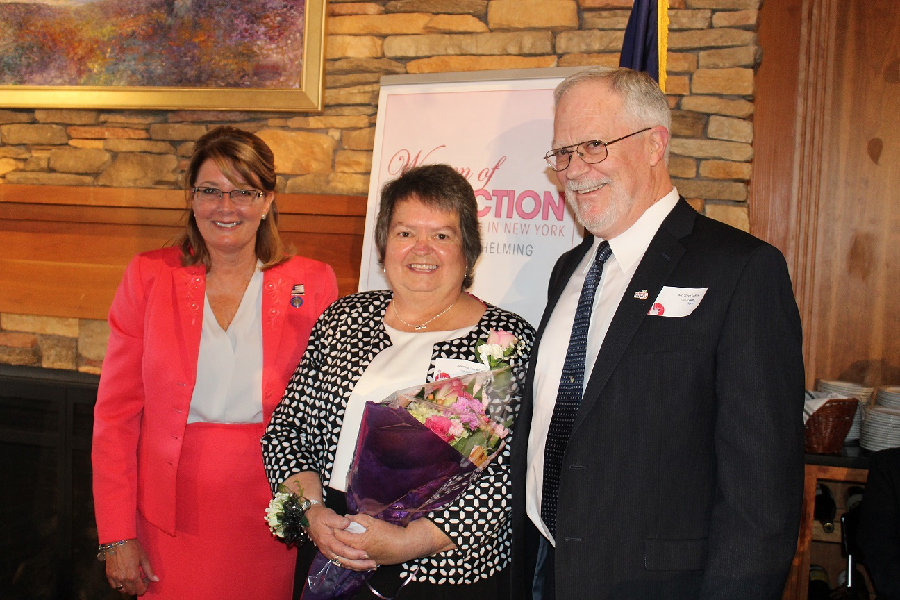 Huron Town Supervisor Named Woman of Distinction