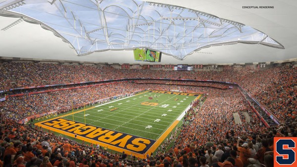 Major Renovations Announced for Carrier Dome