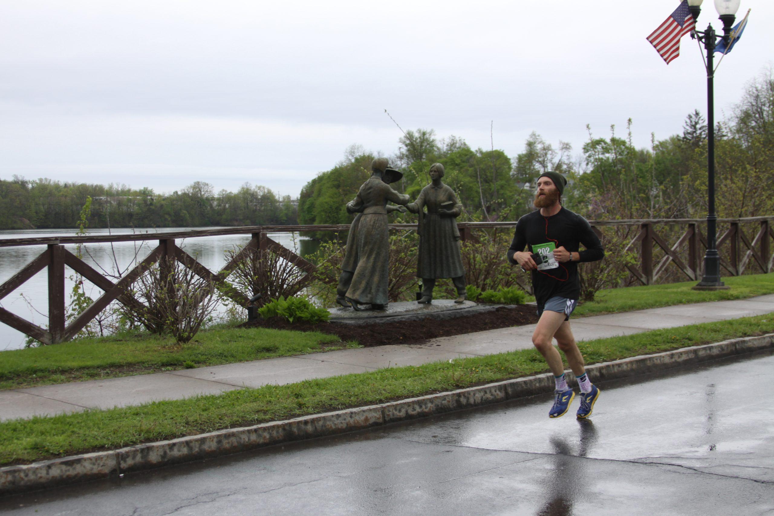 Rain Doesn't Stop Women's Right to Run