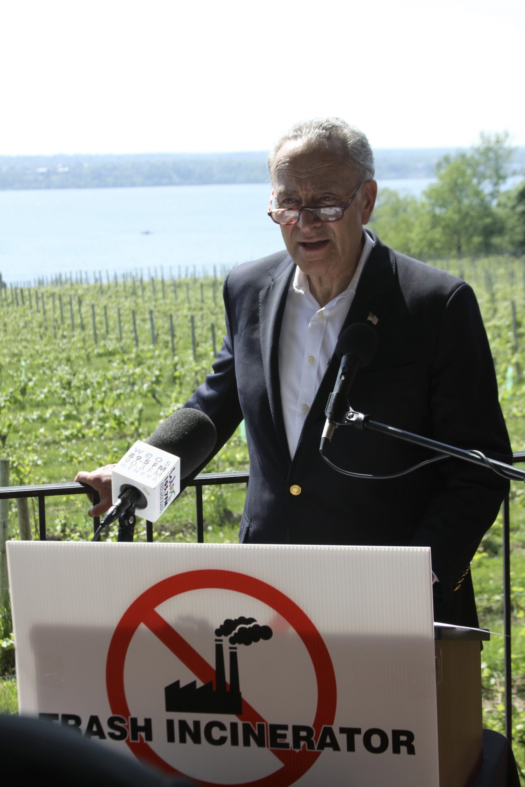 Schumer: Incinerator Would Be a Gut Punch to the Region