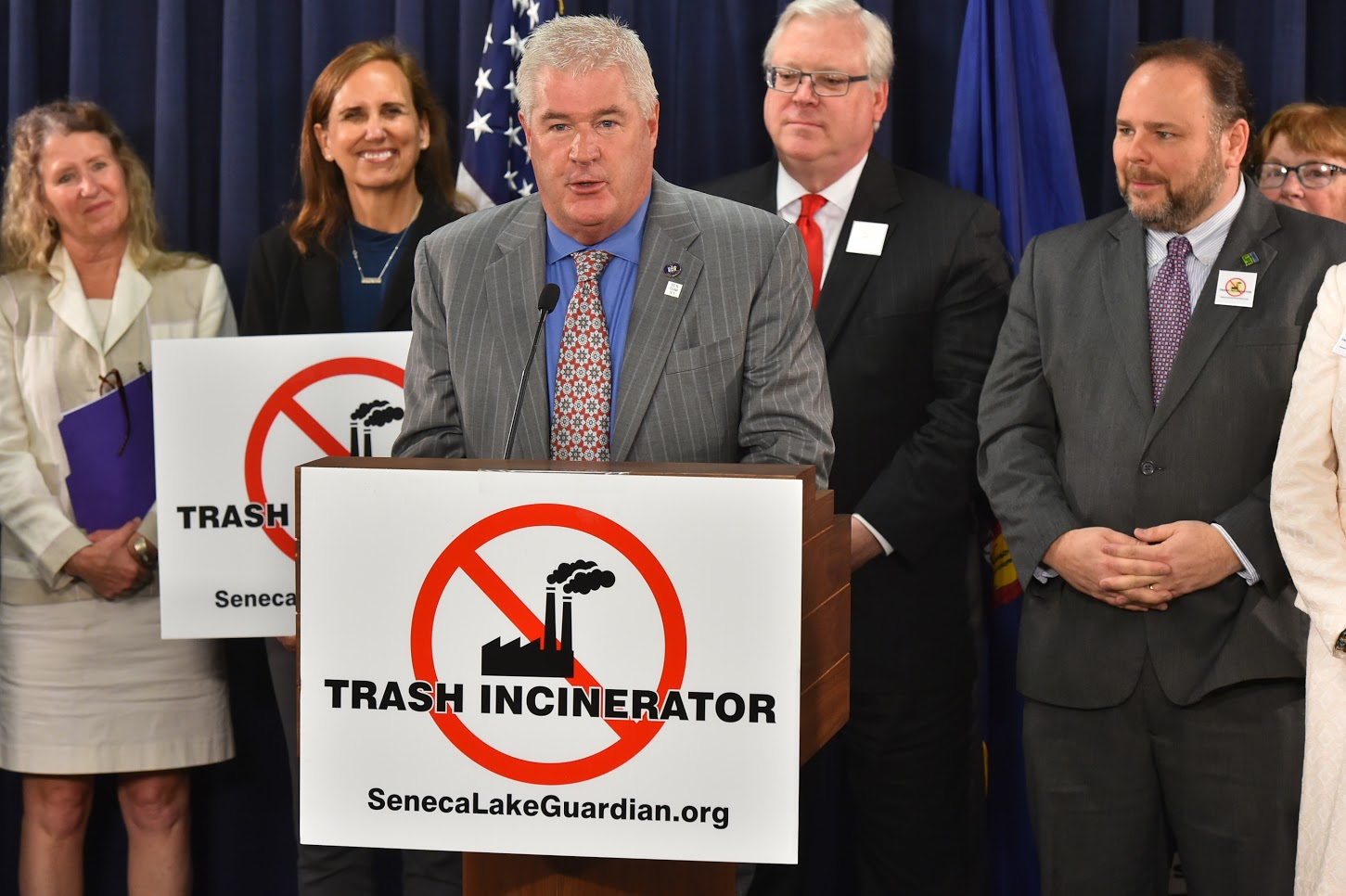 Local Lawmakers, Residents Voice Opposition to Incinerator Project in Albany