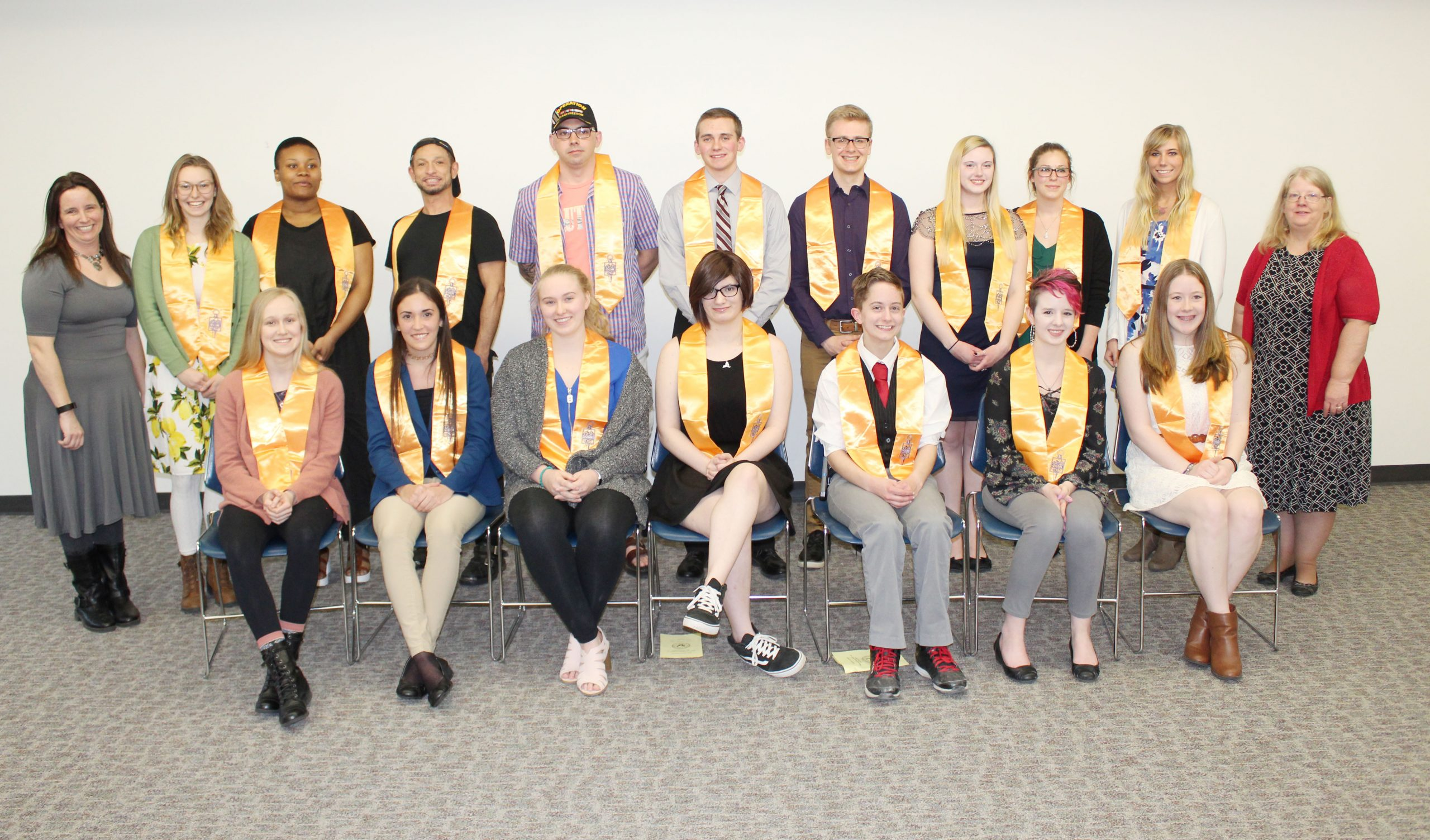 CCC Inducts 33 into Phi Theta Kappa