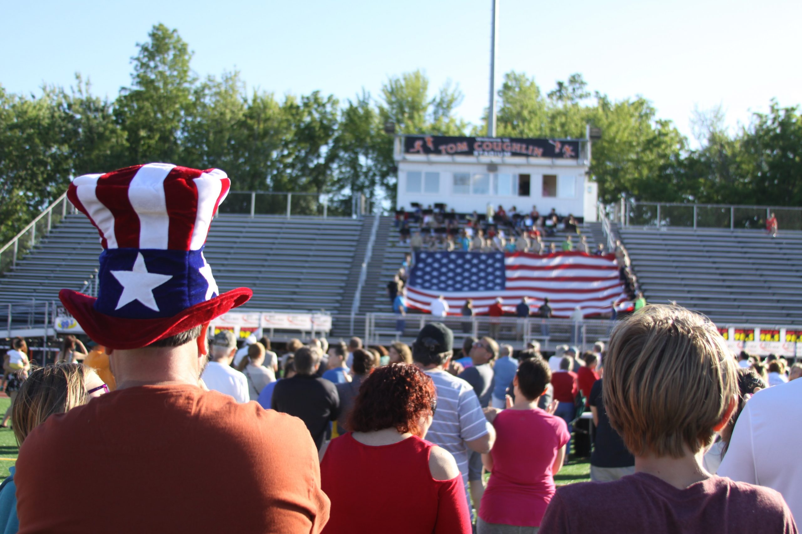 Waterloo Flag Day Pledge of Allegiance Sets Record (Photos & Video)