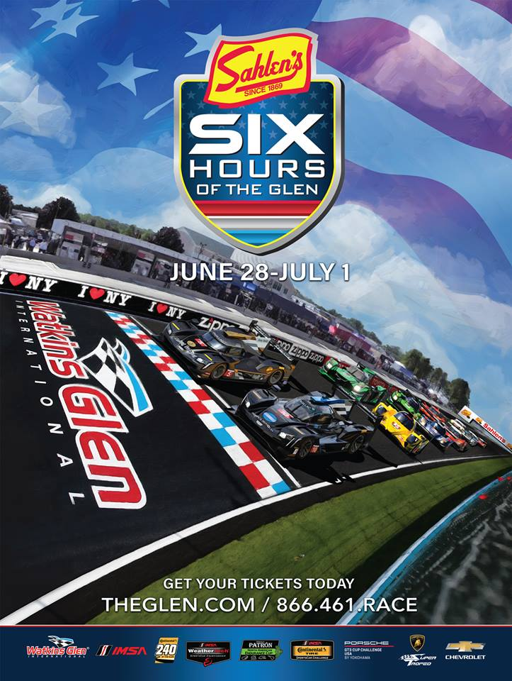 Sahlen's Six Hours of the Glen Returns to WGI This Weekend