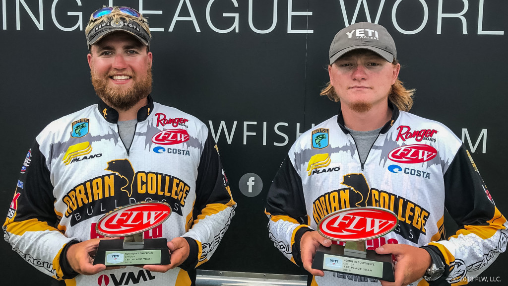 20 Pounds, 2 Ounces Wins College Bass Tournament