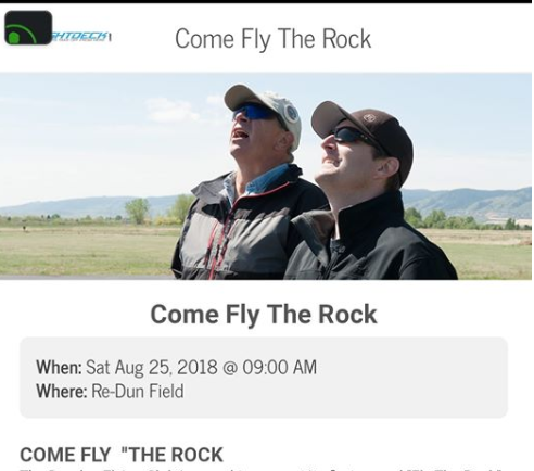 """Fly the Rock"" at Re-Dun Field Continues Saturday"