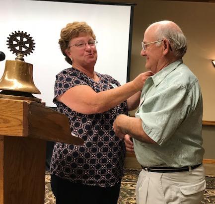 Waterloo Man Honored With 2nd Paul Harris Award