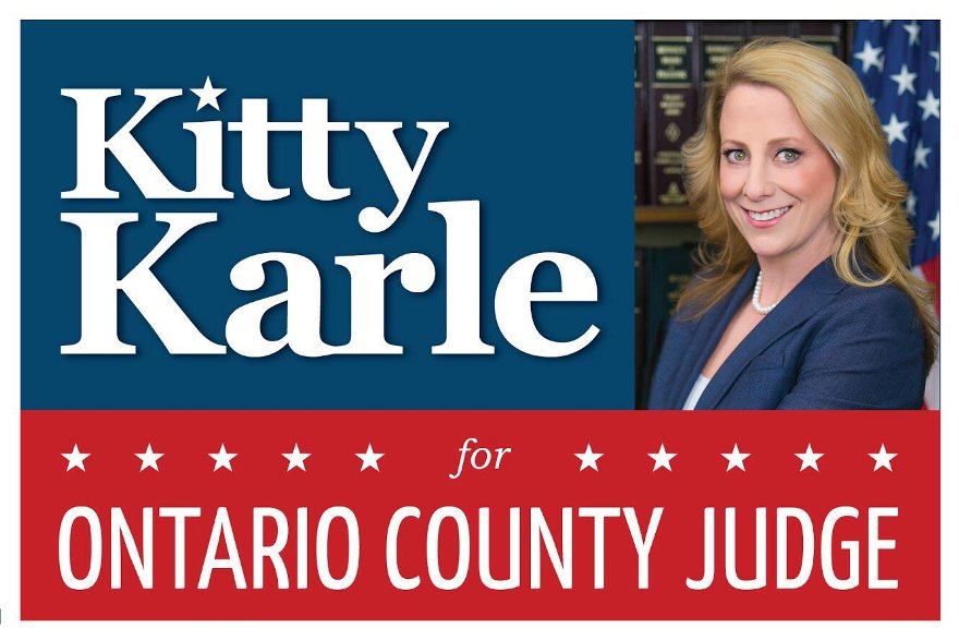 Judge Candidate Alleges Lawn Signs Removed by Opponent's Campaign