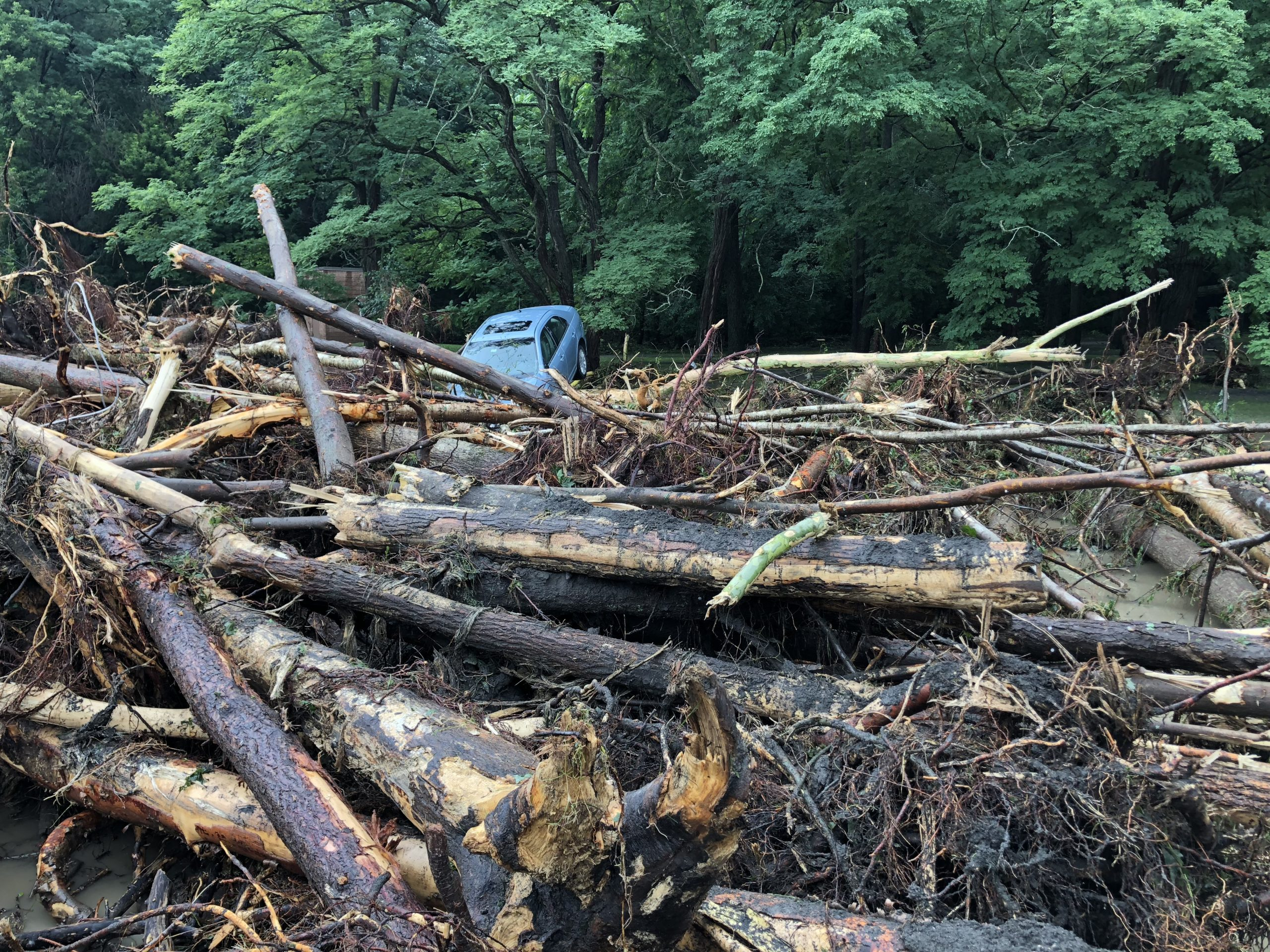 lodi  seneca county hit hard by tuesday flooding