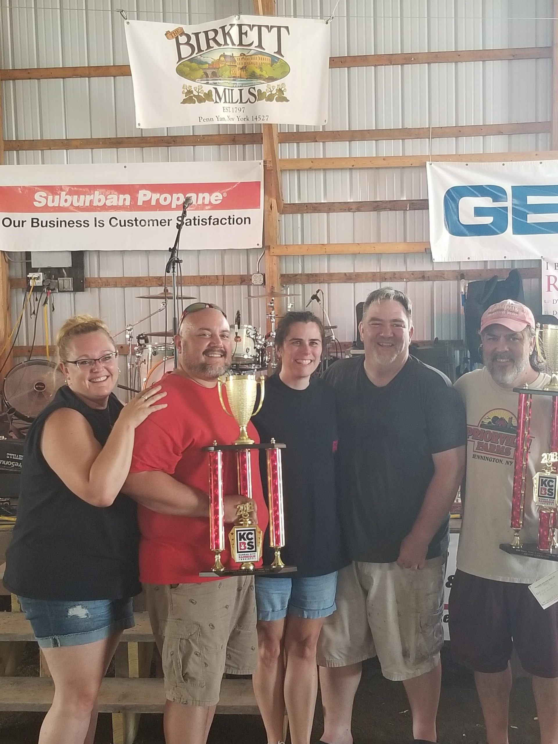 Priorville BBQ Team Declared Grand Champion at Tunes, Brews and BBQ's