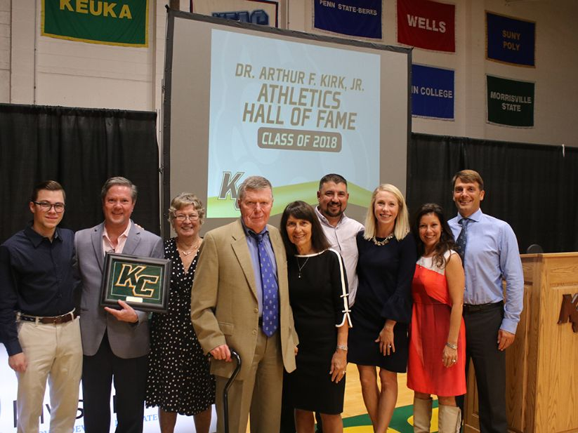 Keuka Athletics Hall of Fame Renamed After Ex-President Kirk