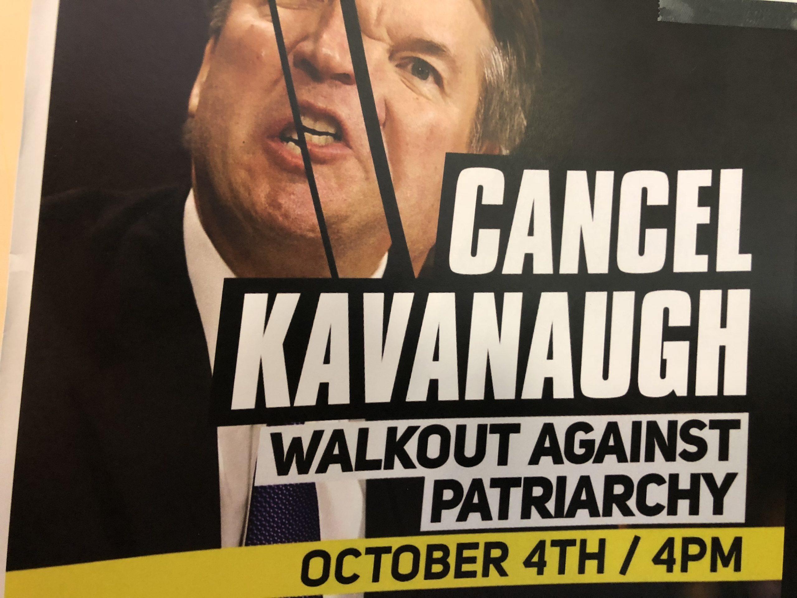 Geneva Women's Walkout Against Kavanaugh