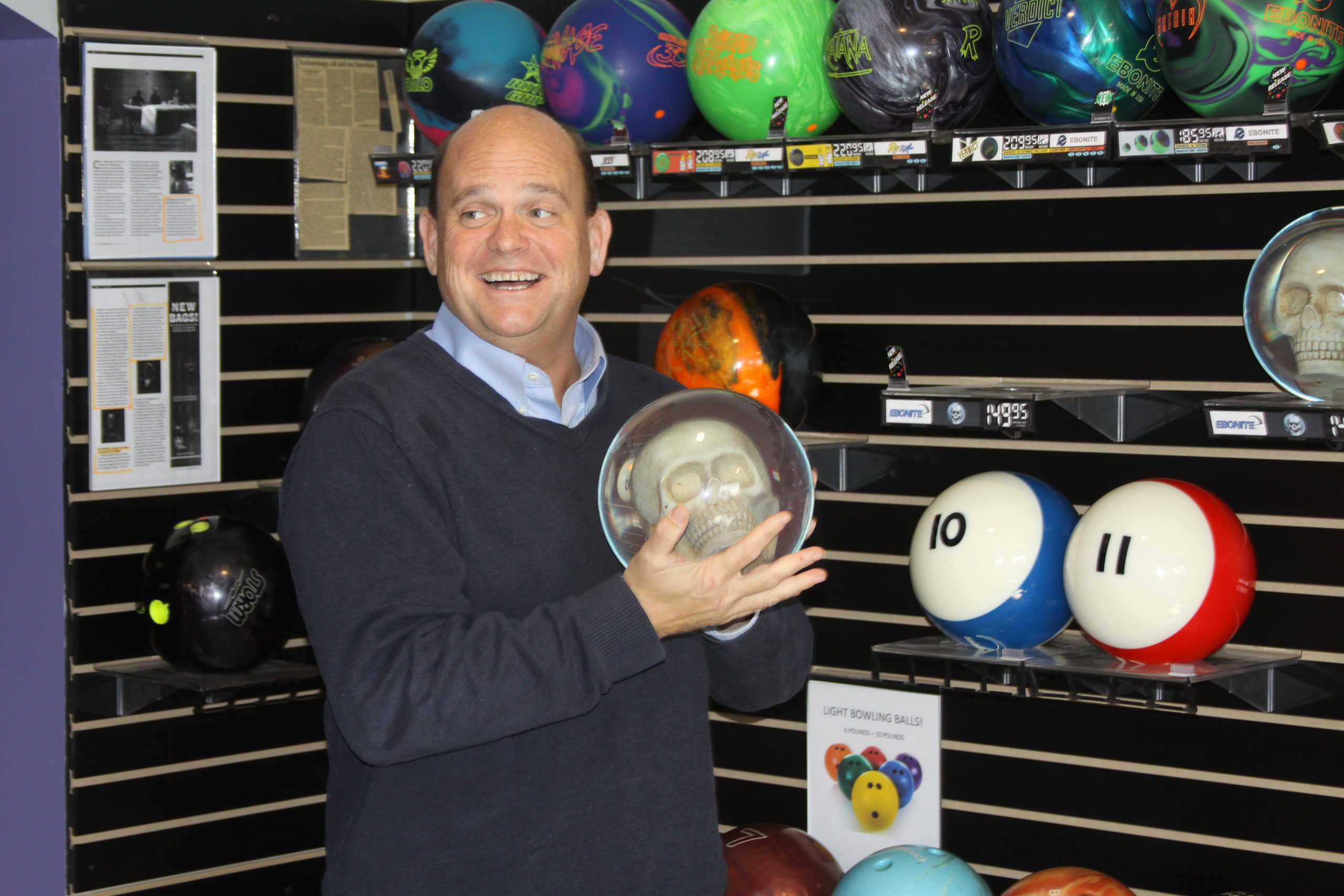 Congressman Tom Reed Visits Sunset Bowl