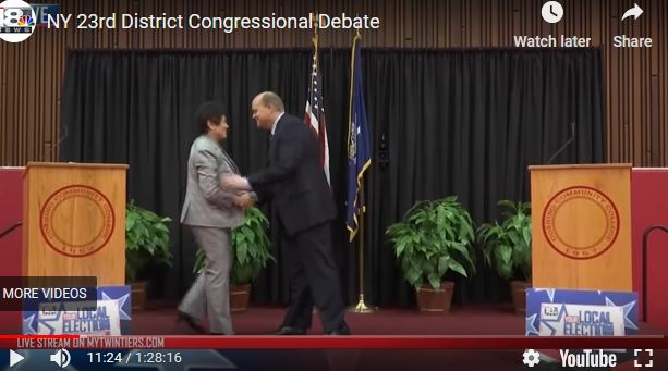 Watch the Reed-Mitrano Debate from Corning Community College