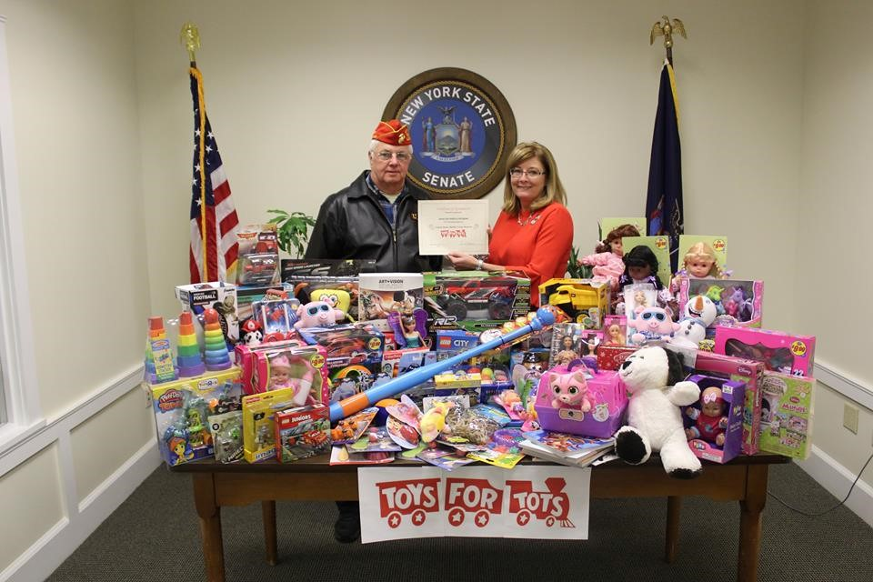 Senator Helming Supports Toys for Tots For the Second Year in a Row