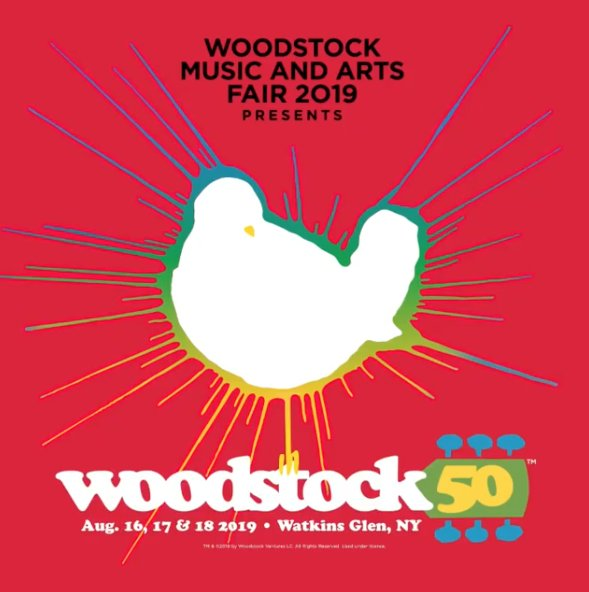 Bummer! Woodstock 50 ticket sales delay