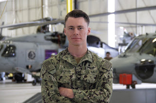 Penn Yan native recognized for serving with Navy helicopter squadron