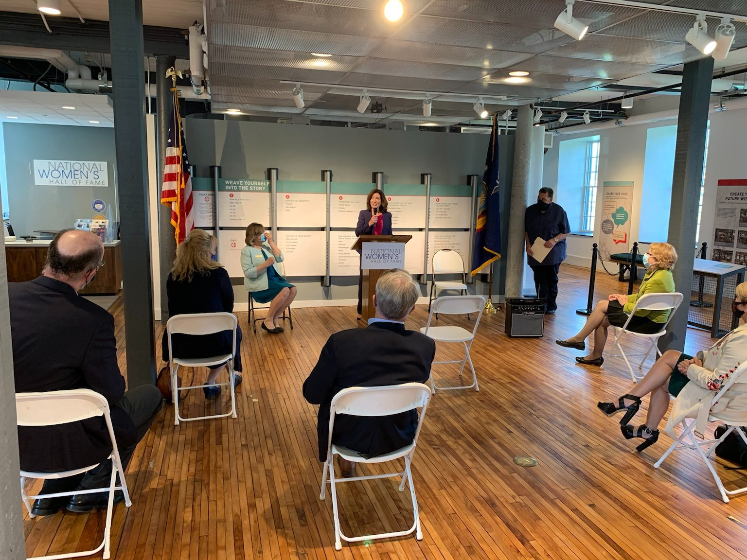 Hochul unveils award winners in Seneca Falls' DRI process