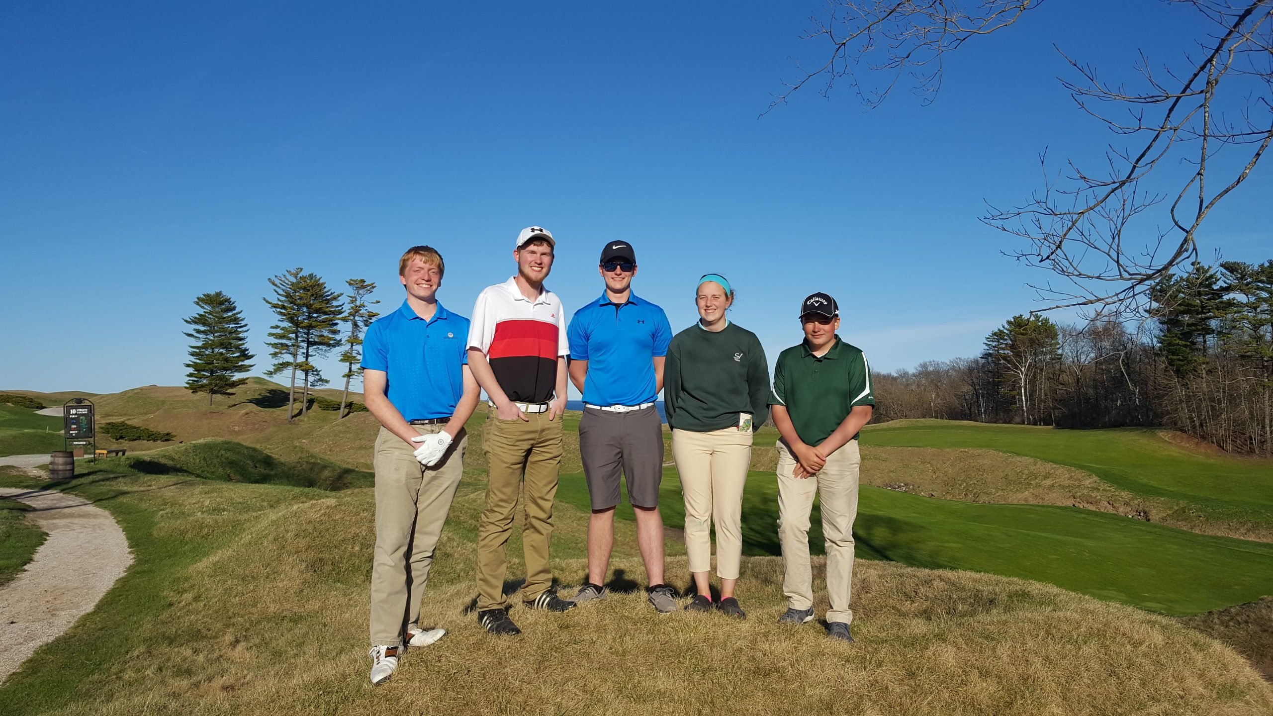 Charger Golfers compete at Whistling Straights