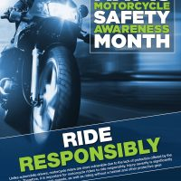 May Is Motorcycle Awareness Month
