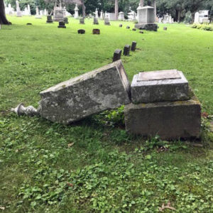 Historic Madison Cemetery Vandalized