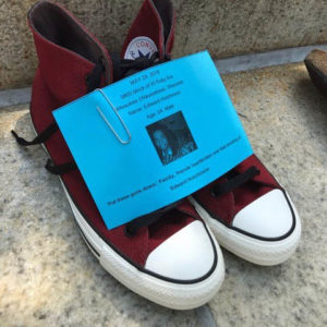 Empty Shoes Highlight Gun Violence at Capitol