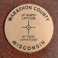 Unique Geographical Point in Marathon County Gets New Marker