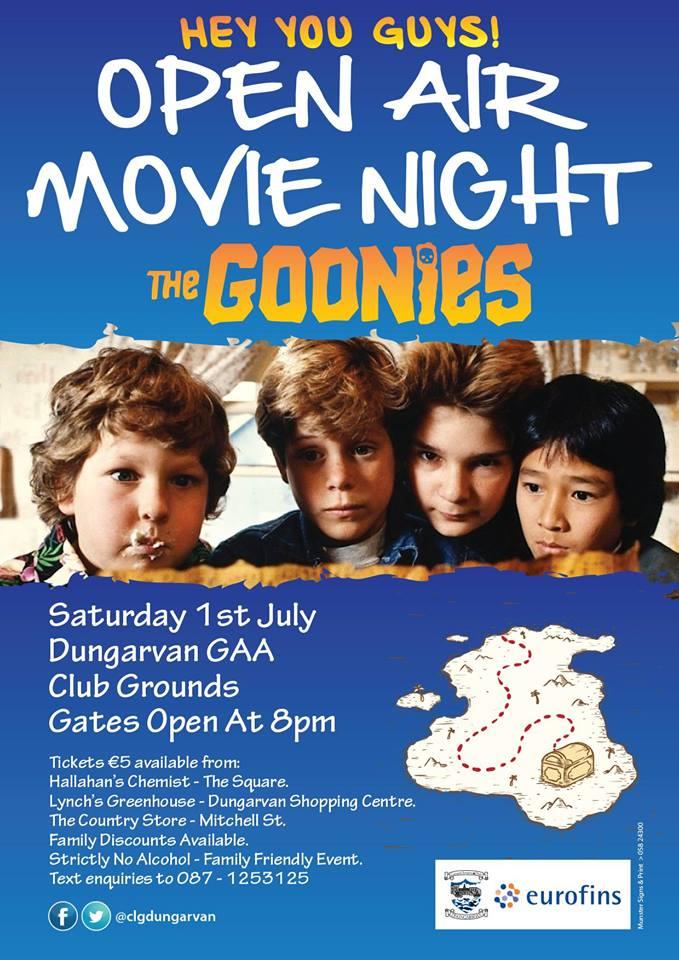 Do you like the Goonies?