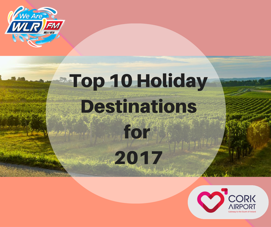 Top 10 Holiday Destinations for 2017