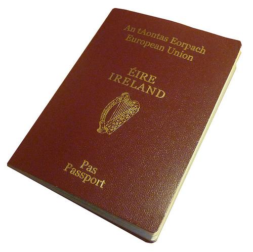 Lost: An Irish Passport