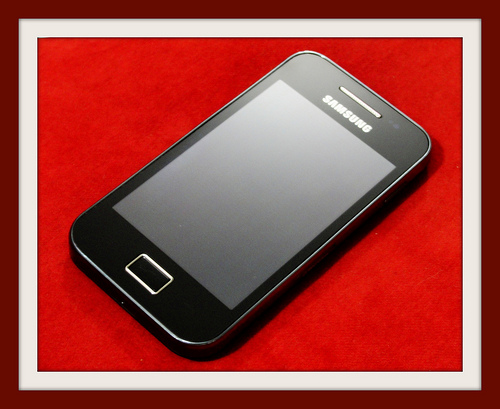 Found: a Samsung phone